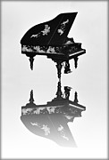 Grand Piano Digital Art Posters - A Grand Piano Poster by Bill Cannon