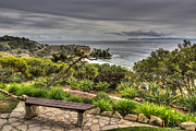 Rancho Palos Verdes Framed Prints - A Grand Vista Framed Print by Heidi Smith