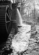 Wayside Inn Grist Mill Prints - A Grist Mill Print by Mark Goode