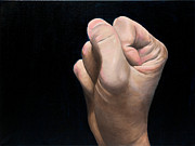 Paintings Available As Prints - A Hand Study by Phillip Compton