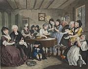A Harlots Progress, Plate Vi Print by William Hogarth