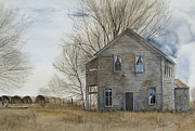 Wooden Building Originals - A-Highway General Store by Denny Dowdy