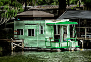 Christopher Holmes Metal Prints - A Home on the Water Metal Print by Christopher Holmes