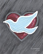 David Pastels - A hopeful heart - by David Zamudio by David Zamudio