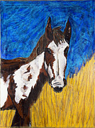 Becca Weeks Art - A Horse of Course by Becca Weeks