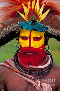 Art Wolfe - A Huli Man