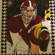 Bama Paintings - A. J. by Trevor Hill
