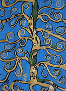 Klimt Painting Originals - A Klimt Tree by Stefan Duncan