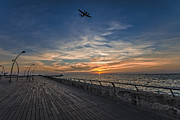 Dusk Art - a kodak moment at the Tel Aviv port by Ron Shoshani