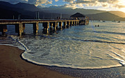 Hanalei Metal Prints - A Land Called Hanalei Metal Print by Kathy Yates