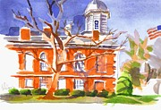 Ironton Painting Originals - A Late Autumns Saturday Afternoon by Kip DeVore
