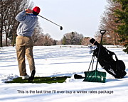 Titleist Posters - A Little Me Time III Poster by Robert Harmon