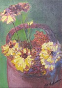 Laurel  McCallum - A Little Pot of Mums