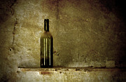 Flower Picture Posters - A lonely bottle Poster by RicardMN Photography