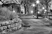 Park Benches Photos - A Lonely Night by JC Findley