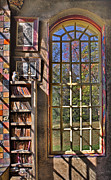 A Look From The Library Print by Susan Candelario