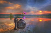 Colorful Art Digital Art - A lovely morning by Veikko Suikkanen