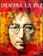 John Lennon Photo Originals - A man Of Peace and the World .Spain. by Vitaliy Shcherbak