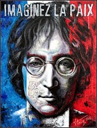 John Lennon Photo Originals - A man Of Peace and the World by Vitaliy Shcherbak