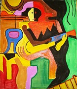 Sonali Singh - A man with guitar