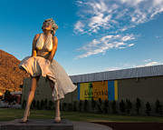 Palm Springs Photos - A Marilyn Morning by John Daly