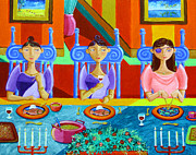 Philippines Art Prints - A Meal without Rice Print by Paul Hilario