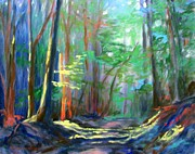 Pathway Paintings - A Moment in Time by Bonnie Mason