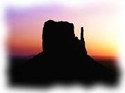 A Monumental Silhouette 2 Print by Mel Steinhauer