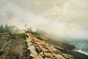 Pemaquid Posters - A Morning in Maine 2 Poster by Darren Fisher