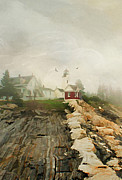 Pemaquid Posters - A Morning in Maine Poster by Darren Fisher