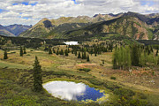 Travel Photo Prints - A Mountain Drive in Colorado  Print by Mike McGlothlen