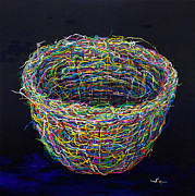 Nest Paintings - A Nest United by Songmi Park