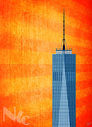 Wtc Digital Art Metal Prints - A New Day - World Trade Center One Metal Print by Nishanth Gopinathan
