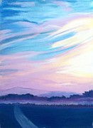 Dream Scape Originals - A New Day on A New Road by Frank Giordano 