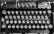 Typewriter Photos - A new typewriter keyboard layout devised by Naval officer, Augus by Underwood Archives