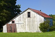 Old Barns Mixed Media Posters - A Nice Barn To Roost Poster by Marilyn Giannuzzi