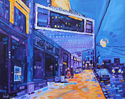 Basie Painting Prints - A Night Out Print by Michael Ciccotello