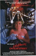 Vintage Posters Art - A Nightmare on Elm Street Poster by Sanely Great