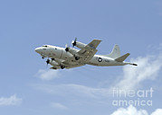 Featured Art - A P-3c Orion Aircraft Takes by Stocktrek Images