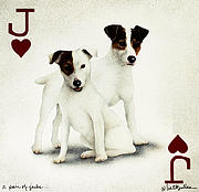 A Pair Of Jacks... Print by Will Bullas