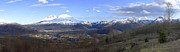 Helen Posters - A panoramic view of Mt St Helens and sorroundings. Poster by Gino Rigucci