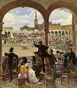 Famous Artists - A Pass in the Bullring by Jose Jimenez Aranda