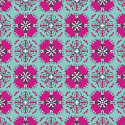 Retro Tapestries - Textiles - A pattern so cute by Savvycreative Designs
