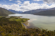 Pleasure Photos - A Peaceful Bay in Southern Chile by Tim Grams