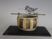 Paper Mache Sculptures - A Place To Call Home by Brenda Berdnik