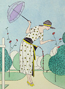 Twenties Prints - A Practical Dress for the Country  Print by Anonymous