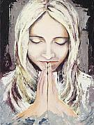 A Prayer... Print by Elisabeta Hermann