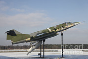 Rocket Boosters Prints - A Preserved F-104g Starfighter Print by Timm Ziegenthaler