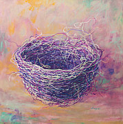 Tangled Posters - A Purple Nest Poster by Songmi Park