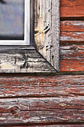 Weathered Houses Posters - A Quarter Window Poster by Heiko Koehrer-Wagner